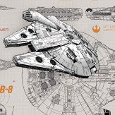 Brewers Star Wars Blueprint Mural - Product code: 8-493
