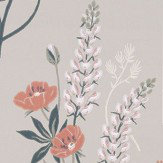 Sandberg Emma Taupe Wallpaper - Product code: 427-29