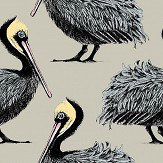 Petronella Hall Pelican Taupe Wallpaper - Product code: P-WT