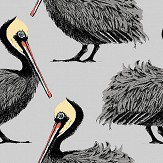 Petronella Hall Pelican Grey Wallpaper