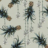 Petronella Hall Pineapples and Petals Driftwood Wallpaper