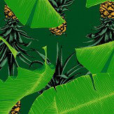 Petronella Hall Palm House Green Wallpaper