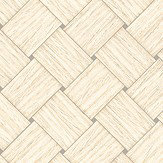 Engblad & Co Basket Weave Beige Wallpaper