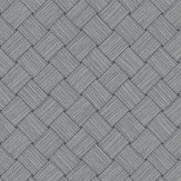 Eco Wallpaper Basket Weave Grey Wallpaper