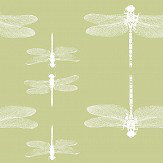 Petronella Hall Dragonfly Fennel Wallpaper - Product code: D-WF