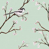 Petronella Hall Blossom Eau De Nil Wallpaper - Product code: B-WE