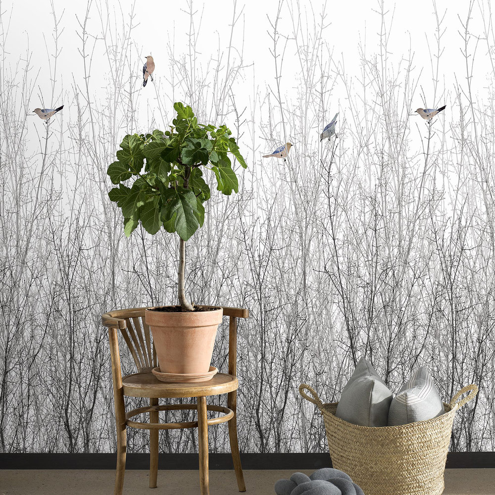 Engblad & Co Sparrow White Mural - Product code: 5283