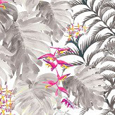 Petronella Hall Tropics Smoke Wallpaper