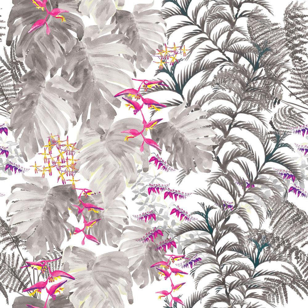 Petronella Hall Tropics Smoke Wallpaper main image