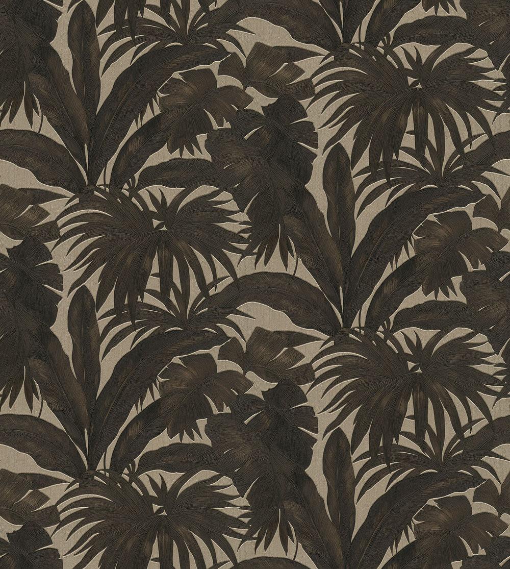 Versace Giungla Black / Gold Wallpaper - Product code: 96240-1