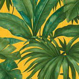 Versace Giungla Green / Yellow Wallpaper