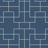 Coordonne Marco Tempo Blue Wallpaper - Product code: 6300025