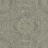 Linwood Labyrinth Dove Grey Wallpaper