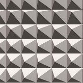 Kirkby Design.com Domino Pyramid Monochrome Wallpaper