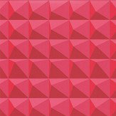 Kirkby Design.com Domino Pyramid Crimson Wallpaper