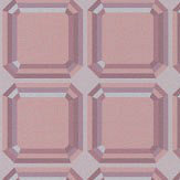Kirkby Design.com Gem Blocks Powder Wallpaper