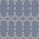Kirkby Design.com Loopy Link Steel Wallpaper