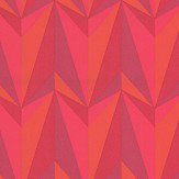 Kirkby Design.com Origami Rockets Lava Wallpaper - Product code: WK806/04