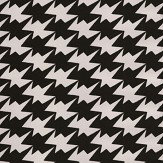 Kirkby Design.com Zig Zag Birds Flock Monochrome Wallpaper