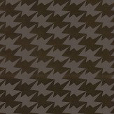 Kirkby Design.com Zig Zag Birds Flock Bronze Wallpaper