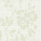 Sandberg Vera Pale Green Wallpaper