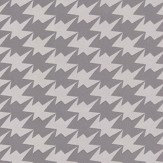 Kirkby Design.com Zig Zag Birds Flock Steel Wallpaper