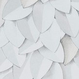 Eco Wallpaper Leaves Multi White Wallpaper