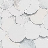 Engblad & Co Dots Multi White Wallpaper