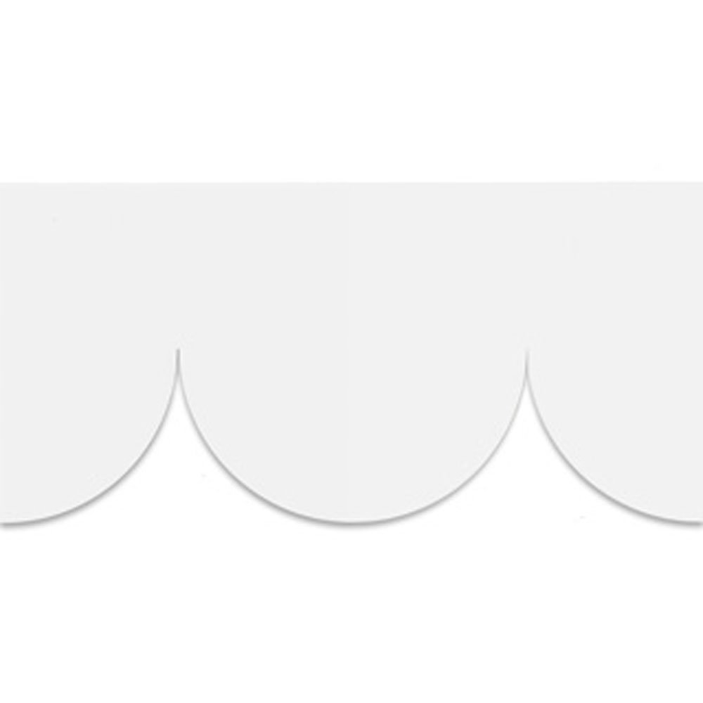 Engblad & Co Cut Edge Border White - Product code: 4064