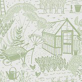 Sanderson The Allotment Fennel Wallpaper - Product code: 216351