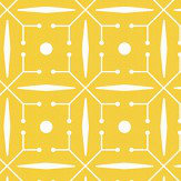 Layla Faye Domino Buttercup Yellow Wallpaper