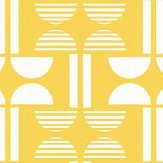Layla Faye Napier Bright Yellow Wallpaper