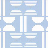 Layla Faye Napier Pale Sky Wallpaper - Product code: LF1050