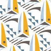 Layla Faye Sailing Boats Sunset Orange Wallpaper - Product code: LF1057