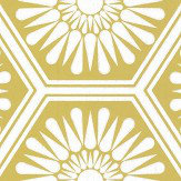 Layla Faye Hex Olive Wallpaper - Product code: LF1058