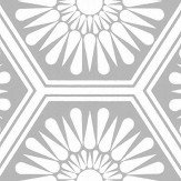 Layla Faye Hex Misty Grey Wallpaper