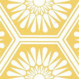 Layla Faye Hex Buttercup Yellow Wallpaper