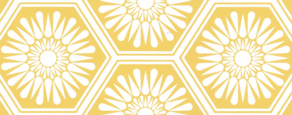 Layla Faye Hex Buttercup Yellow Wallpaper main image