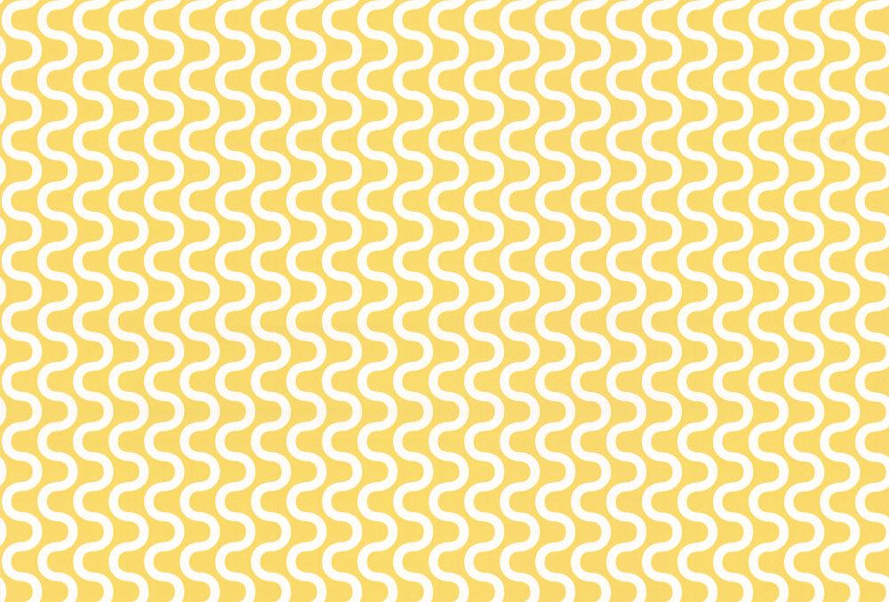 Layla Faye Ripple Buttercup Yellow Wallpaper main image