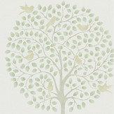 Sanderson Bay Tree Celadon / Flint Wallpaper - Product code: 216359