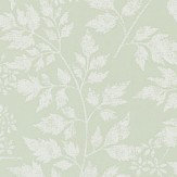 Sanderson Spring Leaves Celadon Wallpaper