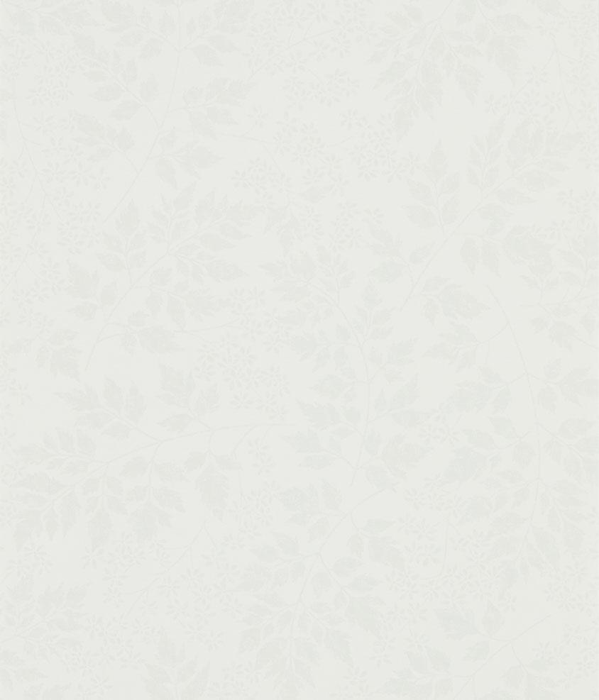 Sanderson Spring Leaves Dove Wallpaper main image