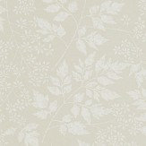 Sanderson Spring Leaves Barley Wallpaper