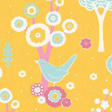Majvillan Cherry Valley Yellow Wallpaper