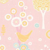 Majvillan Cherry Valley Pink Wallpaper - Product code: 102-05