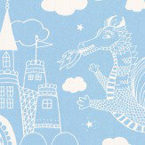 Majvillan Dragon Sky Sky Blue Wallpaper - Product code: 103-02