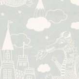 Majvillan Dragon Sky Grey Wallpaper - Product code: 103-04