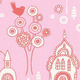 Majvillan Palace Garden Pink Wallpaper - Product code: 104-02