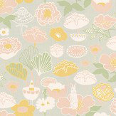 Majvillan Little Light Light Grey Wallpaper