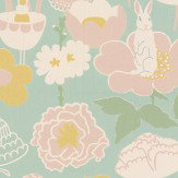 Majvillan Little Light Turquoise Wallpaper - Product code: 114-02